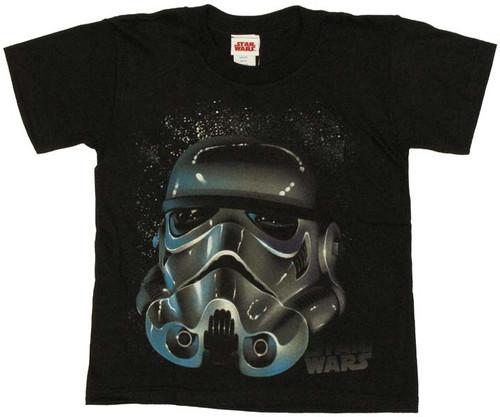 Star Wars Trooper Helmet Juvenile T-Shirt