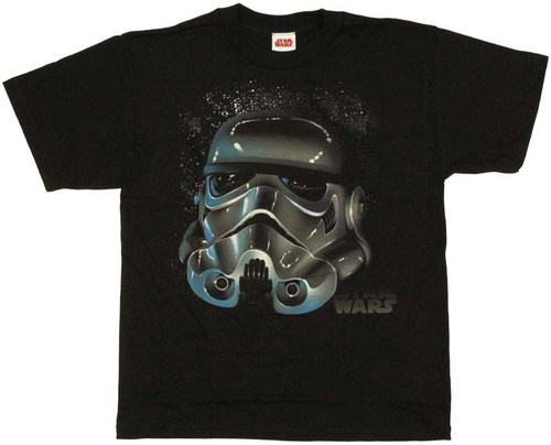 Star Wars Trooper Helmet Youth T-Shirt