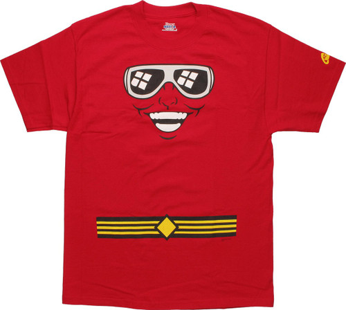 Plastic Man Face T-Shirt