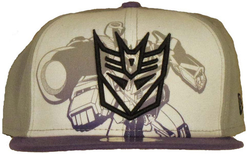Transformers Outline Decepticon Logo 59FIFTY Hat