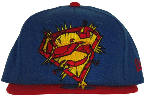 Superman Exploding Logo 59FIFTY Hat