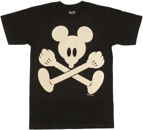 Disney Mickey Pirate Flag T Shirt