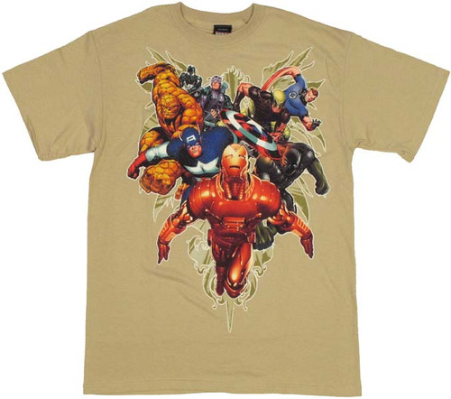 Marvel Surprise Attack T Shirt