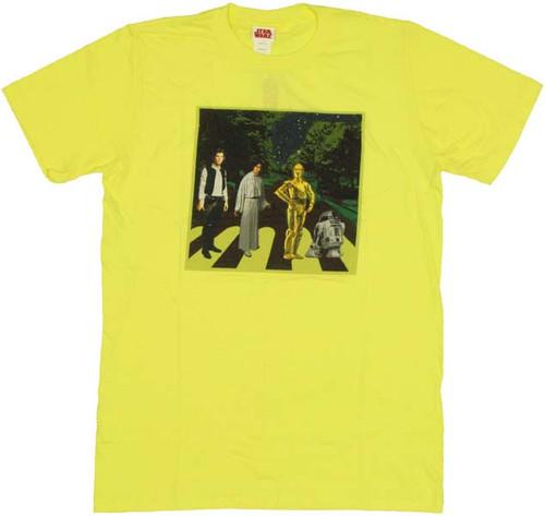 Star Wars Abbey Crossing T Shirt Sheer