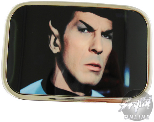 Star Trek Spock Belt Buckle