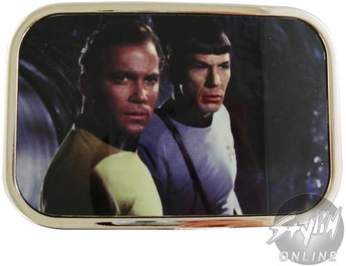 Star Trek Kirk Spock Belt Buckle