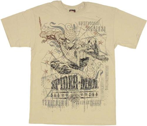 Spiderman Web T Shirt