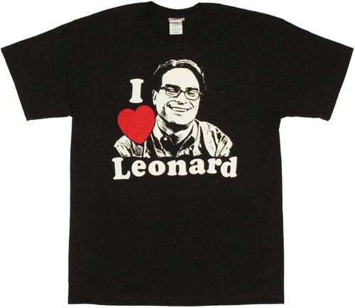Big Bang Theory Leonard T Shirt