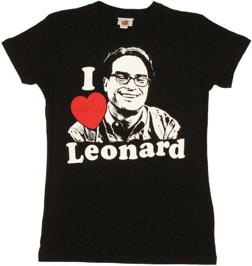Big Bang Theory Leonard Baby Tee
