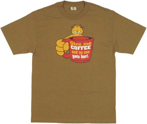Garfield Coffee T Shirt