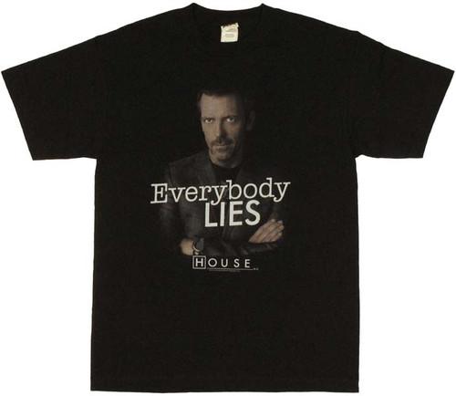 House Lies T Shirt