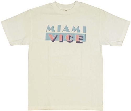 Miami Vice Logo T Shirt