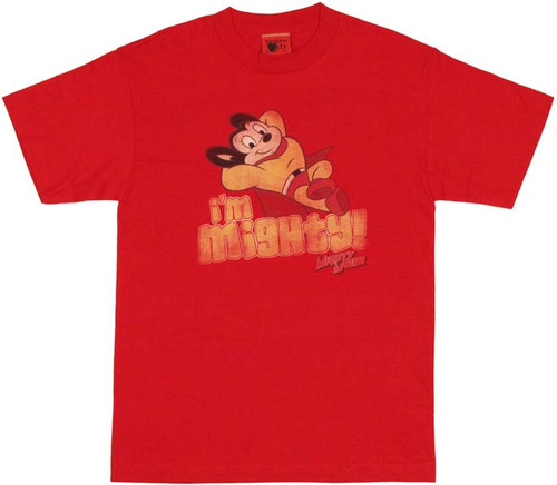 Mighty Mouse Mighty T Shirt