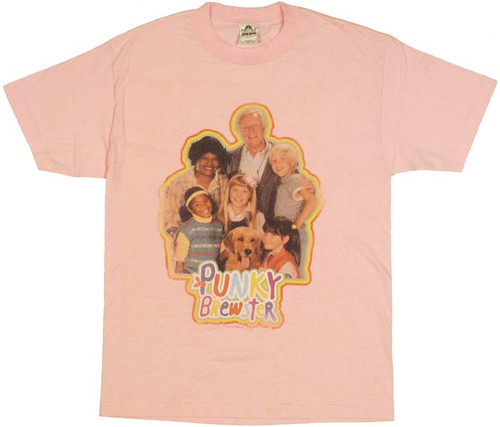 Punky Brewster Group T Shirt