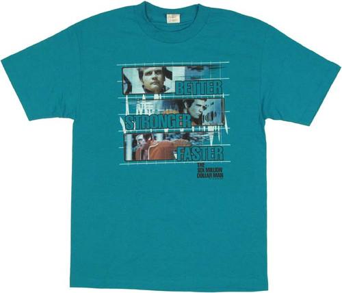 Six Million Dollar Man Stronger T Shirt