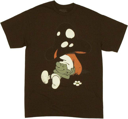 Smurfs Lazy T Shirt