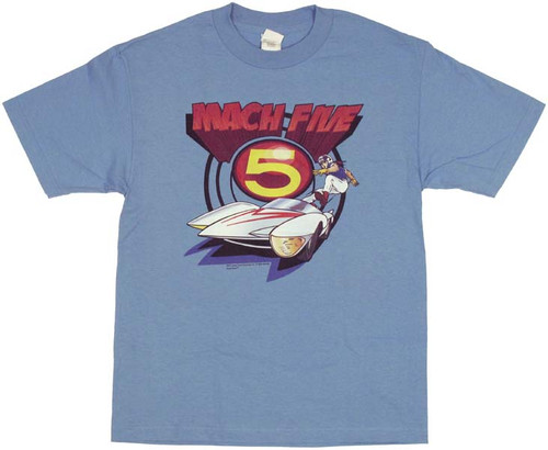 Speed Racer Mach Five T Shirt