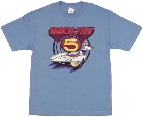 Speed Racer Mach Five T Shirt