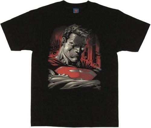 Superman Stare T Shirt