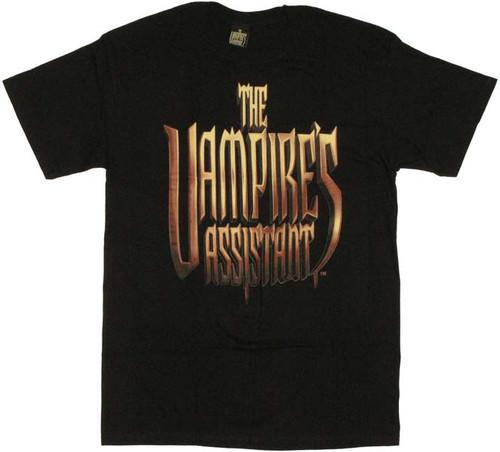 Vampires Assistant Logo T Shirt