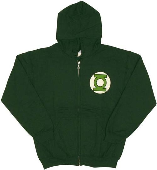 Green Lantern Logo Hoodie