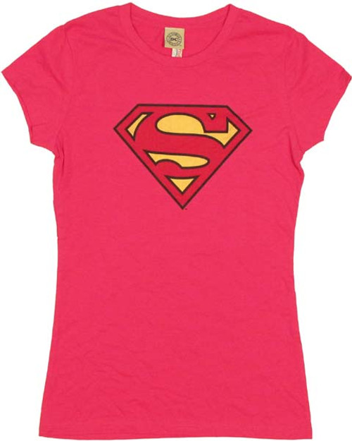 Supergirl Logo Juniors T-Shirt