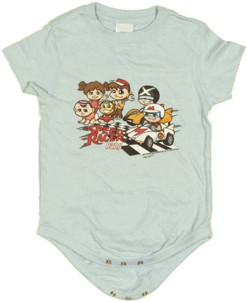 Speed Racer Baby Group Snap Suit