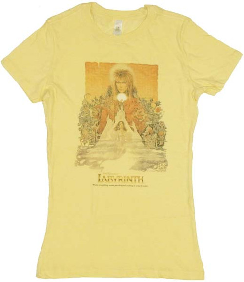 Labyrinth Poster Baby Tee