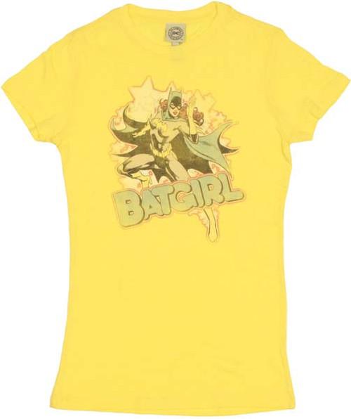 Batgirl Stars Baby Tee