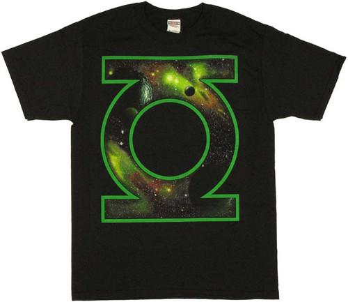 Green Lantern Space Logo T Shirt