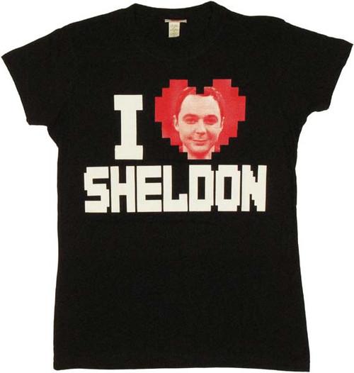 Big Bang Theory Sheldon Baby Tee