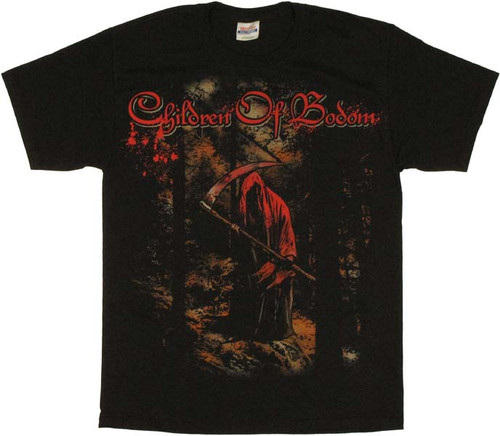 Children of Bodom Reaper Forest T Shirt
