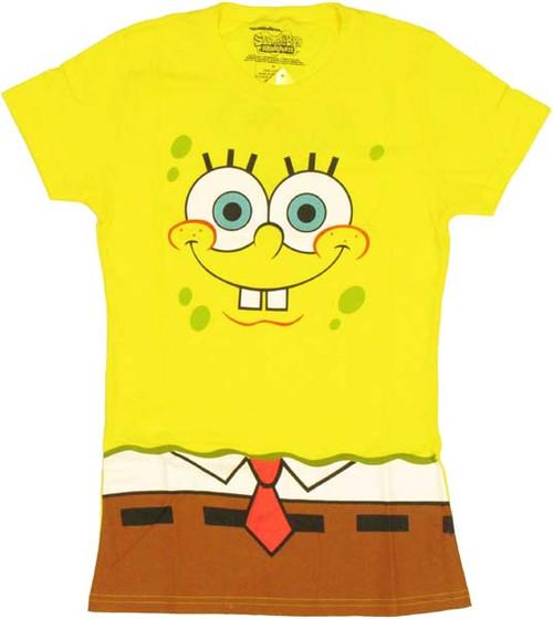 Spongebob Squarepants Costume Baby Tee