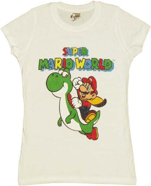 Nintendo Yoshi Mario World Baby Tee