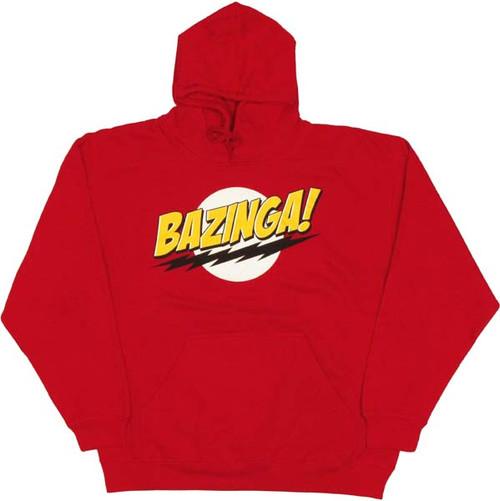 Big Bang Theory Bazinga Logo Hoodie