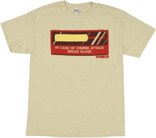 Shaun of the Dead Cricket Bat T Shirt