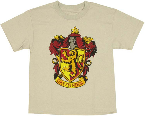 Harry Potter Gryffindor Youth T Shirt