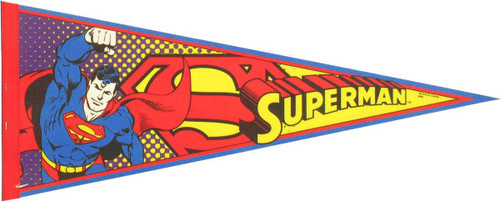 Superman Logo Pennant