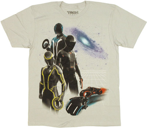 Tron Disk T Shirt Sheer