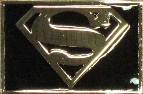 Superman Logo Rectangle Belt Buckle