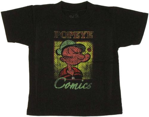 Popeye Comics Toddler T Shirt