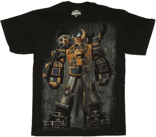 Power Rangers Thunderstorm Megazord T Shirt