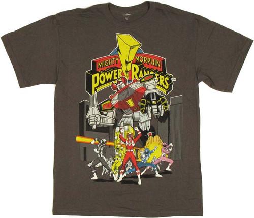 Power Rangers Megazord Group T Shirt