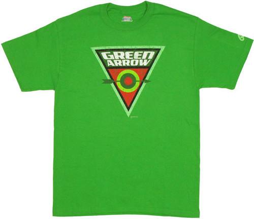 Green Arrow Bullseye T Shirt