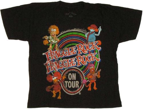 Fraggle Rock Mens Wembley Circle Pullover Hoodie