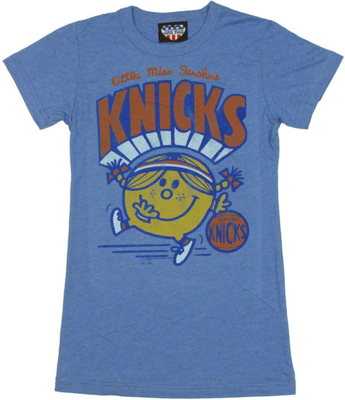 NBA Little Miss Knicks Baby Tee