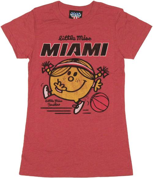 NBA Little Miss Miami Baby Tee