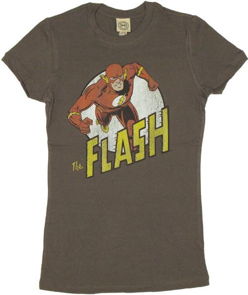 Flash Vintage Run Juniors T-Shirt
