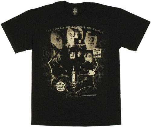 Universal Studios Chaney Family T Shirt