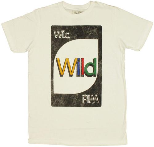 Uno Wild Card T Shirt Sheer